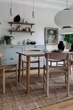Kitchen Time, Kitchen Dinning, Dining Table, Simply Home, Small Space Design, Roomspiration, Dining Room Design, Living Room Interior, Home Renovation