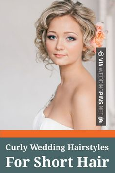 Cool! - wedding hairstyles for short hair Curly Wedding Hairstyles For Short Hair | CHECK OUT MORE AWESOME INSPIRATIONS FOR GREAT Wedding Hairstyles for Short Hair OVER AT WEDDINGPINS.NET | #weddinghairstylesforshorthair #weddinghairstyles #hair #stylesforshorthair #hairstyles #hair #boda #weddings #weddinginvitations #vows #tradition #nontraditional #events #forweddings #iloveweddings #romance #beauty #planners #fashion #weddingphotos #weddingpictures