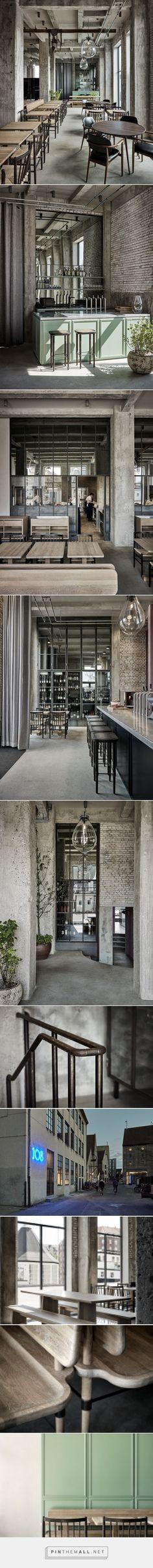 SPACE copenhagen converts warehouse into restaurant 108 http://www.designboom.com/architecture/space-copenhagen-restaurant-108-copenhagen-rene-redzepi-interiors-11-23-2016/ - created via https://pinthemall.net