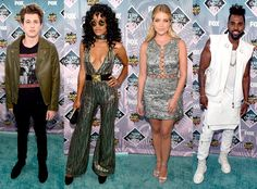 The Best and Worst Dressed at the 2016 Teen Choice Awards: Jessica Alba John Stamos and More Stars Who Turned Heads Teen Choice Awards 2016, John Stamos, Jessica Alba, Red Carpet, Celebrity Style, Cover Up, Stars, Celebrities, Disappointed