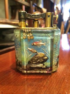 Iconic Dunhill Aquarium Lighter Service Size