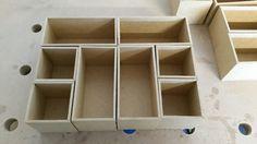 Einsatzboxen, Schubladeneinteilung Bauanleitung zum selber bauen