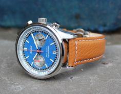 The Helgray Silverstone Chronograph | Dappered.com