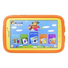 "#Samsung 7"" Galaxy Tab 3 Kids Edition - Yellow/Orange  #holidaygifts #holidayshopping #kids"