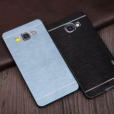 Motomo gebürstetem aluminium case für samsung a3 2016 pc phone cases für samsung galaxy a5 2016 a7 a3 j3 j5 2016 schutzhülle abdeckung