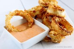 Baked Gluten Free Onion Rings