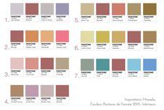 Inspirations Marsala, couleur Pantone de l'année 2015 : Intérieurs. Sélection Pantone 2015 Marsala : Blog Univers Créatifs. #Marsala #Pantone