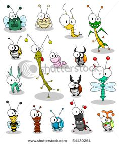 Cartoon insects vector 189023 - by Bastetamon on V. - - - Cartoon insects vector 189023 – by Bastetamon on V… – Bella Cartoon Insekten Vektor 189023 – von Bastetamon auf V … – # Bastetamon Cartoon Cartoon, Cartoon Faces, Cartoon Drawings, Animal Drawings, Ladybug Cartoon, Doodle Art, Doodle Drawings, Easy Drawings, Happy Paintings