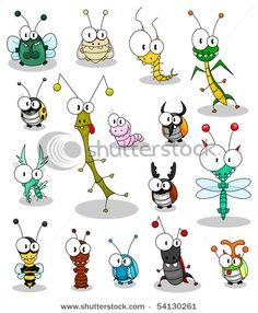 Cartoon insects vector 189023 - by Bastetamon on V. - - - Cartoon insects vector 189023 – by Bastetamon on V… – Bella Cartoon Insekten Vektor 189023 – von Bastetamon auf V … – # Bastetamon Cartoon Cartoon, Cartoon Faces, Cartoon Drawings, Animal Drawings, Ladybug Cartoon, Doodle Art, Doodle Drawings, Easy Drawings, Happy Paintings