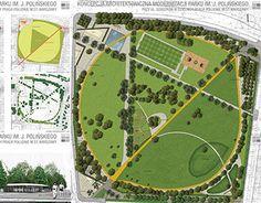 Projekt modernizacji Parku im J.Polińskiego w Warszawie