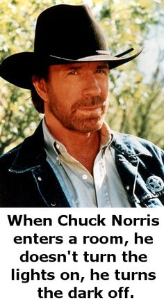 Love chuck Norris funnies :)
