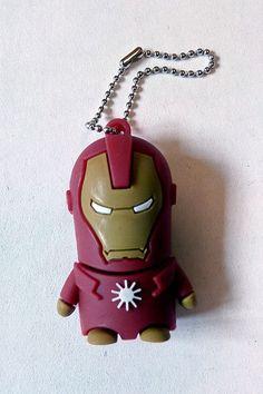 Ironman USB 2.0 16GB Flash Pen Drive Super Eroi Super Hero - Altre Dimensioni