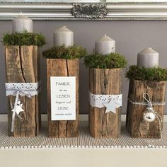 Simple And Popular Christmas Decorations; Christmas Decor DIY dekoration wohnung Simple And Popular Christmas Decorations Centerpiece Christmas, Christmas Candles, Noel Christmas, Rustic Christmas, Xmas Decorations, Christmas Themes, Christmas Ornaments, Holiday Decor, Advent Wreath