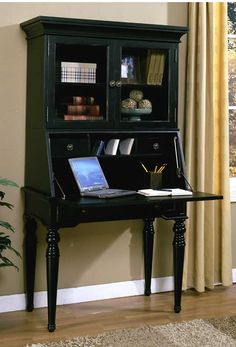 desk with hutch google search chic office desk hutch