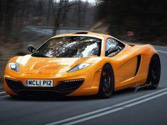 2012 McLaren P12 F1 Successor Drive Yellow