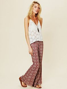 Printed Flare Pant  http://www.freepeople.com/whats-new/printed-flare-pant/