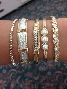 Ronaldo Bracelets. Village Jewelry and Sports Butler, AL 205.459.3348 could do the 2d from the right