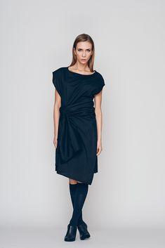 75d4b11fcee Deconstructed dress tunic for the spring summer season