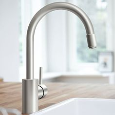 GROHE Concetto Kitchen Tap (High Spout with Pull-Down Spray Head, 360 degree Swivel Range and Supersteel): Amazon.co.uk: DIY & Tools