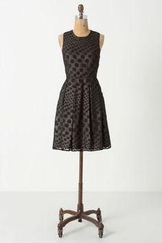LBD. Falling Dots Dress