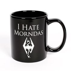 The Bethesda Store - I Hate Morndas Mug - The Elder Scrolls - Brands