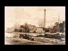 Een foto van het Kanaal met ver op de achtergrond de fabriek van Jansen en Tilanes. Vriezenveen. Twente. Overijssel. Nederland. Paris Skyline, Snow, Painting, Travel, Outdoor, Outdoors, Viajes, Painting Art, Paintings