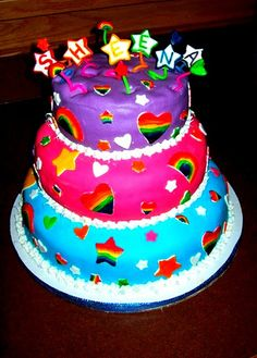 Lisa Frank Birthday | Lisa Frank Cake | Flickr - Photo Sharing!
