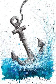 Drift and Anchor - Canvas Print