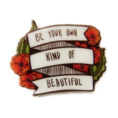 feminist inspirational quote lapel pin