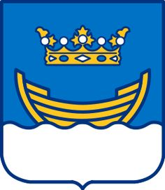 Helsinki, since 1967 June 12 is Helsinki Day. The Finnish capital's most well known symbol is its coat of arms (dating to but the boat and crown do occasionally appear in flag form. Visit Helsinki, City Logo, National Symbols, Interesting History, Crests, Beautiful Buildings, Coat Of Arms, Nostalgia, Culture