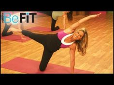 10 Crunch-Free Moves for Killer Abs - Try this Pilates and kickboxing-inspired circuit for strong, defined abs Pilates Workout Routine, Workout Log, Kickboxing Workout, Workout Videos, Cardio Pilates, Exercise Videos, Ab Workout For Women At Home, Denise Austin, Denise Denise