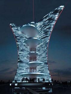 Veneza deve ganhar torre de 255 metros - Pierre Cardim