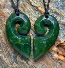 Two Piece Koru Heart Set