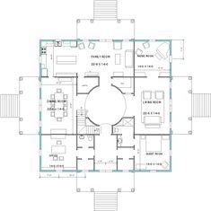 Palladian Rotonda - Bolling Greene Design