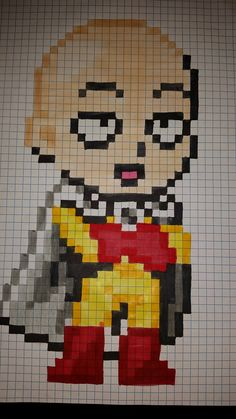 28 Meilleures Images Du Tableau Pixel Art Manga Perles