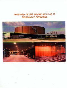 Postcard of the Indian Hills Theater, Omaha, Nebraska