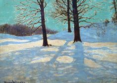 Winter Sun :: Frank Johnston (1888-1949) :: Canadian Historical Painting :: 2012 :: Exhibitions :: Gallery Gevik