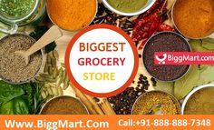 Biggmart – Online #supermarket offering discounts on #grocery, #vegetables, foods, daily essentials & more.