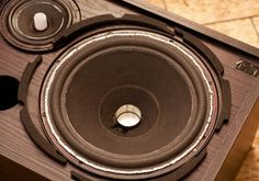 Re-foam Your Old Speakers : 18 Steps (with Pictures) - Instructables Carver Amplifier, Small Hinges, Home Theater Installation, Power Wire, Diy Speakers, Loudspeaker, Circuit Diagram, Bluetooth, Pictures