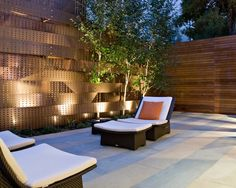 Fences | Yard Decor | Asian Contemporary | Lounge Chairs