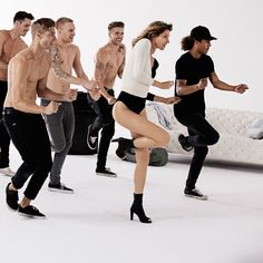 Gisele Bündchen is killing it in her new ads for Stuart Weitzman shoes! She credits her super toned body to yoga and a low carb diet... and a little dancing doesn't hurt either. #victoriasecret #supermodel #giselebundchen #dailyvitamin