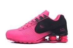 b10b4de688e2 Women s Nike Shox Deliver Black Baby Pink Running Shoes NIKE000151