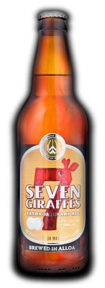 Williams Bros. Brewing - Seven Giraffes - Elderflower and Lemon