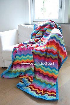 Ravelry: Ripple Blanket pattern by Marielle Engelhart
