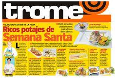 Entrevista gestionada en el Diario Trome, para nuestro cliente Restaurante Puerto Norte.