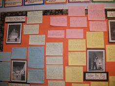 Mysteries of Harris Burdick~Children write stories about the pictures