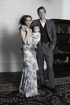 Hamilton and family #thewalkmen