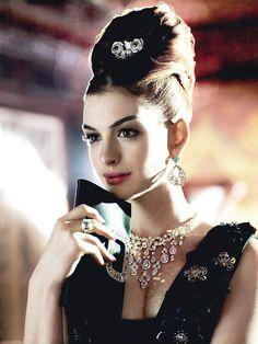 Anne Hathaway in Miu Miu