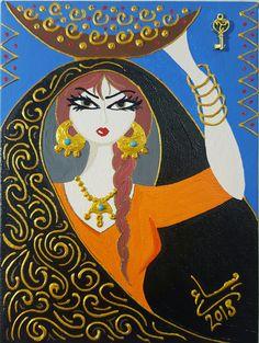 Glass Painting Designs, Arabian Art, African Paintings, Africa Art, Pencil Art Drawings, Egyptian Art, Calligraphy Art, Whimsical Art, Surreal Art
