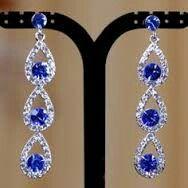 Prom Jewelry, Crystal Jewelry, Wedding Jewelry, Jewelery, Wedding Rings, April Wedding, Blue Wedding, Wedding Colors, Prom Flowers